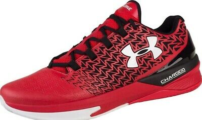 f7ae5767a852 UNDER ARMOUR CLUTCHFIT Drive 3 Low Shoes Red Black Lace Up Trainers ...