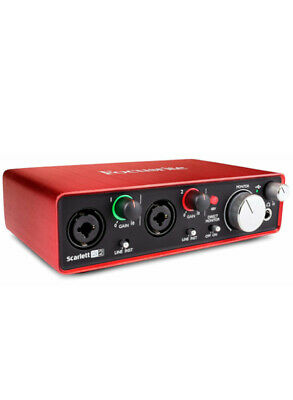 Scheda audio Focusrite Scarlett 2i2 2nd Generation Nuova!!!