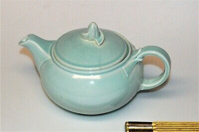 Taylor Smith Taylor LURAY PASTELS shape Teapot in green, with TST backstamp 6 42
