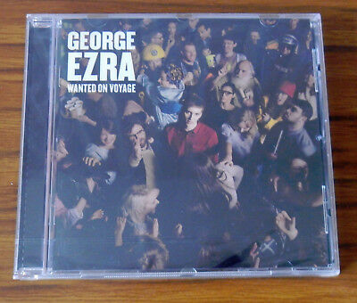 George Ezra New Sealed Wanted On Voyage CD including Budapest, Barcelona etc