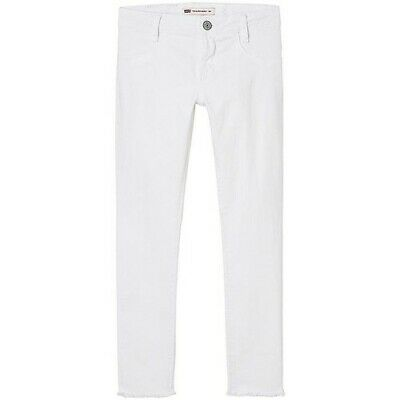 Levi's 710 Super Skinny Jeans Bianco  Denim Bambina Estate  8 10 12 14 16 Anni