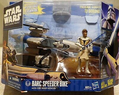 STAR WARS  Barc Speeder & Obi wan