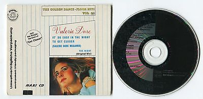 Valerie Dore cd-maxi IT'S SO EASY IN THE NIGHT TO GET CLOSER Italo Disco REMIXES