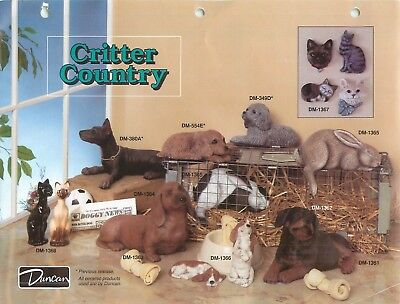Duncan Critter Country Technique Sheet