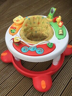 Baby Walker Red Yellow & Green Unisex Mothercare