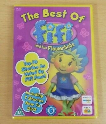 Fifi And The Flowerpots - Best Of (DVD, Animated, Kids) *FREE POSTAGE*