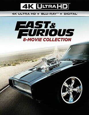 Fast & Furious: 8-Movie Collection (The)(4K Ultra HD)(UHD)(DTS:X)