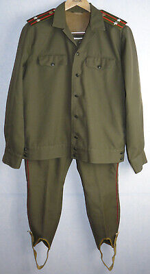 Field Uniform Daily Jacket Tunic Galliffet Trousers Soviet Army Russian Officer