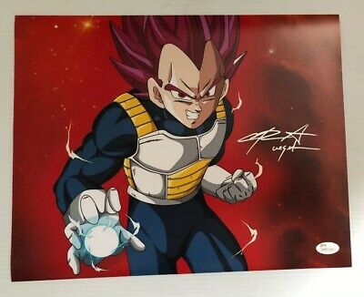 Chris Sabat Signed Autographed 11x14  Photo Dragon Ball Z Vegeta JSA COA 1