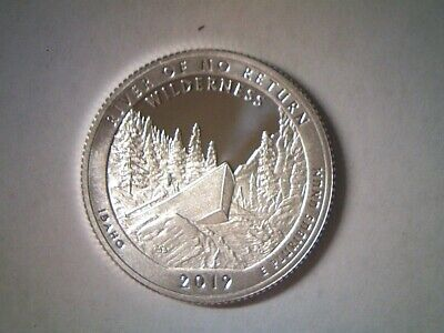 2019 S Silver Proof 25C River of No Return Idaho State ATB Quarter FREE SHIPPING
