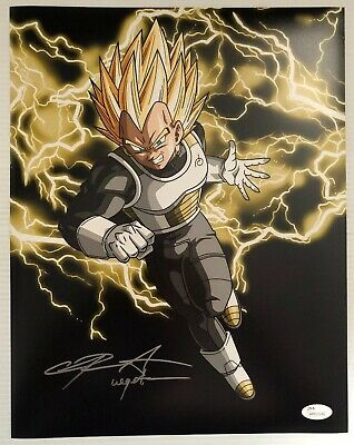 Chris Sabat Signed Autographed 11x14  Photo Dragon Ball Z Vegeta JSA COA 6