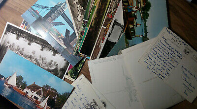 Vintage Old postcards, post card with and without inscriptions