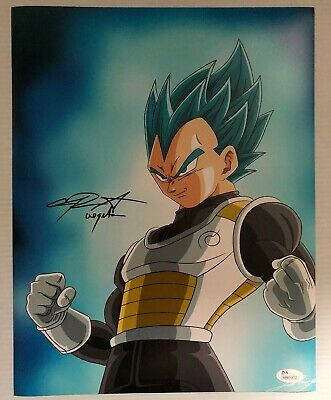 Chris Sabat Signed Autographed 11x14  Photo Dragon Ball Z Vegeta JSA COA 35