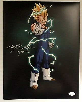 Chris Sabat Signed Autographed 11x14  Photo Dragon Ball Z Vegeta JSA COA 36