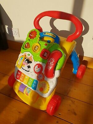 VTech Baby First Steps Baby Walker (8061763) - 2 in 1, baby to toddler toy