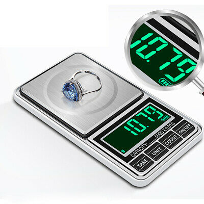 USB Powered Mini Weighing Scale Jewelry Scale LCD Display Pocket Balance