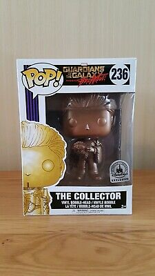 Funko POP! Marvel The Collector (Gold) Guardians Of The Galaxy Disney Parks #236