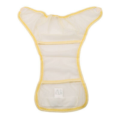 Washable Baby Mesh Diaper Reusable Nappy Breathable Nappies Cover Pants WE