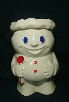 """Vintage 1970's McCoy Pottery """"Bobby The Baker"""" Cookie Jar 10-1/2""""T ~ Great Cond."""