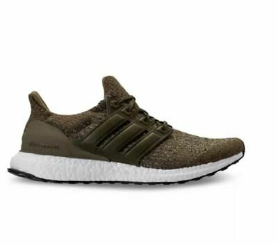 33bcecec2 Adidas 8.5 Mens Shoes Ultra Boost 3.0 Olive Trace OG Khaki Running New in  BOX