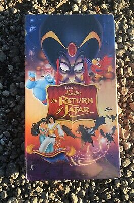 Aladdin: The Return of Jafar (VHS, 2005) Rare 2005 Disney Slipcover Release