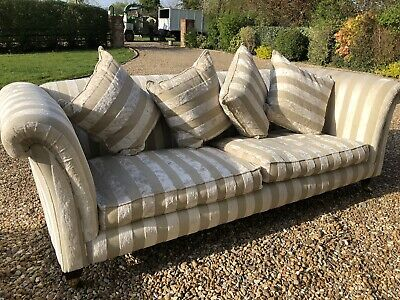 Large Sofa And Two Matching Armchairs