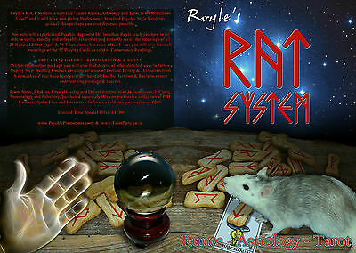 R.A.T System Runes Astrology Tarot Card Cold Reading Psychic Mentalism Magic