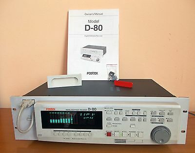 FOSTEX D 80 Registratore multitraccia digitale