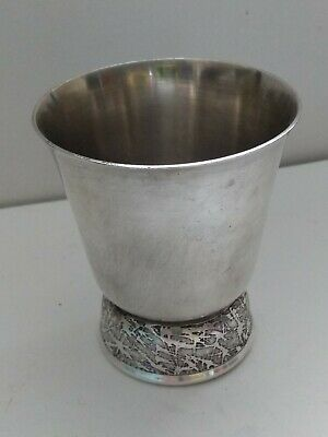 Vintage Silver plated Metal Goblet Type Cup
