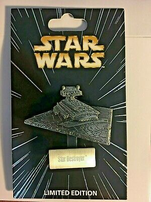 STAR DESTROYER Star Wars Pin of the Month Standee vehicle Disney LE6000