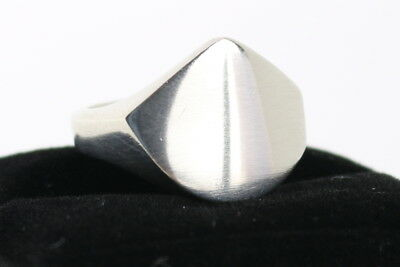 Danish silver ring made by Silversmith in Kolding