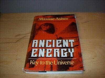 ancient energy key to the universe hardcoer book autographed