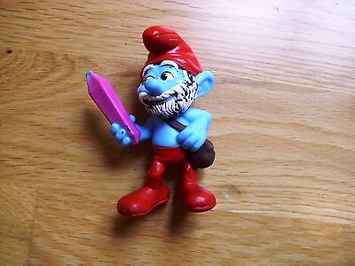 McDonalds Happy Meal toy Papa Smurf The Smurfs