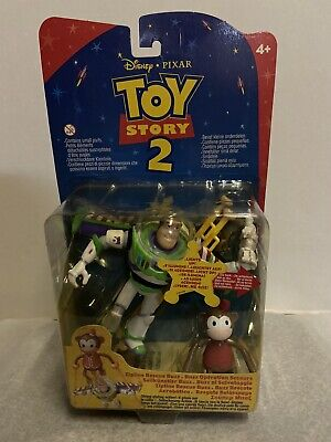 Disney Toy Story Buzz Lightyear Zipline Rescue Buzz figure