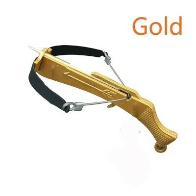 GOLD STEEL Toothpick Crossbow Working Desk Ornament Toy (FAST US SELLER)