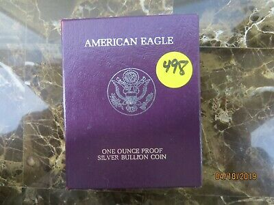 1986-S Proof American Eagle - 1 oz Silver