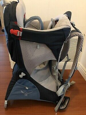 Osprey Packs Poco Ag Plus Child Carrier Seaside Blue Great Condition