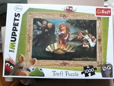 puzzle - disney - trefl - the muppets - 1000 pieces - neuf