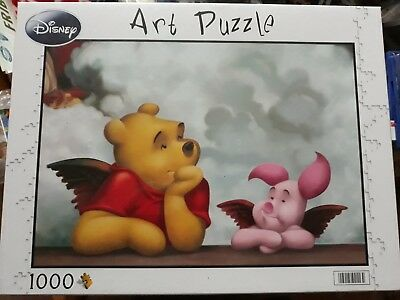 puzzle - disney - art puzzle - les cherubins(winnie,porcinet)- 1000pieces - neuf