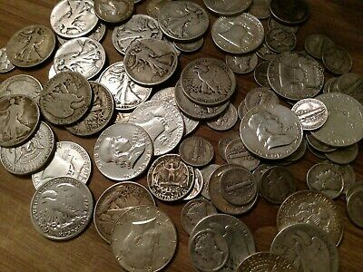 90% junk Silver US coins collection. $23 face value , LOOK! No Reserve !