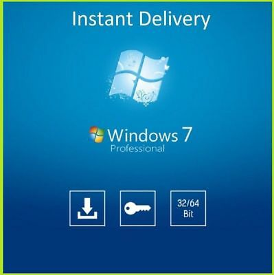Windows 7 Professional Pro 32/64-bit Product Key Win 7 Pro License Full Version