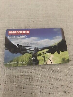 Anaconda Gift Card $130 Exp April 2021