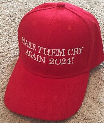MAKE AMERICA GREAT AGAIN 2020 Hat TRUMP Inspired MAKE THEM CRY AGAIN 2020 Cap