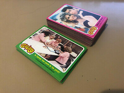 Grease S1 and S2 - BULK Card LOT of 50 - 1978 Topps - EX/NM