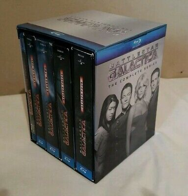 Battlestar Galactica - The Complete Series Blu-ray 26-Disc Set Great Condition!