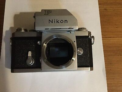 Nikon F With Photomic Head
