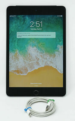 "Apple iPad Mini 4 16GB 7.9"" Wifi A1538 Space Gray Excellent Condition"