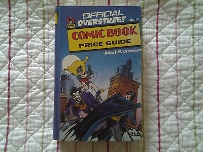 overstreet comic book price guide no. 19