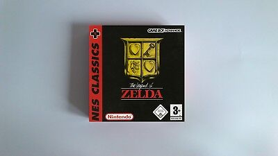 The Legend of Zelda NES Classic Collection  - box only - GBA - thick cardboard.