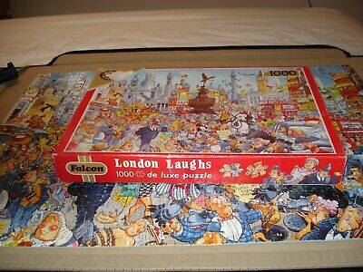 Falcon higsaw 1000 pieces london laughs
